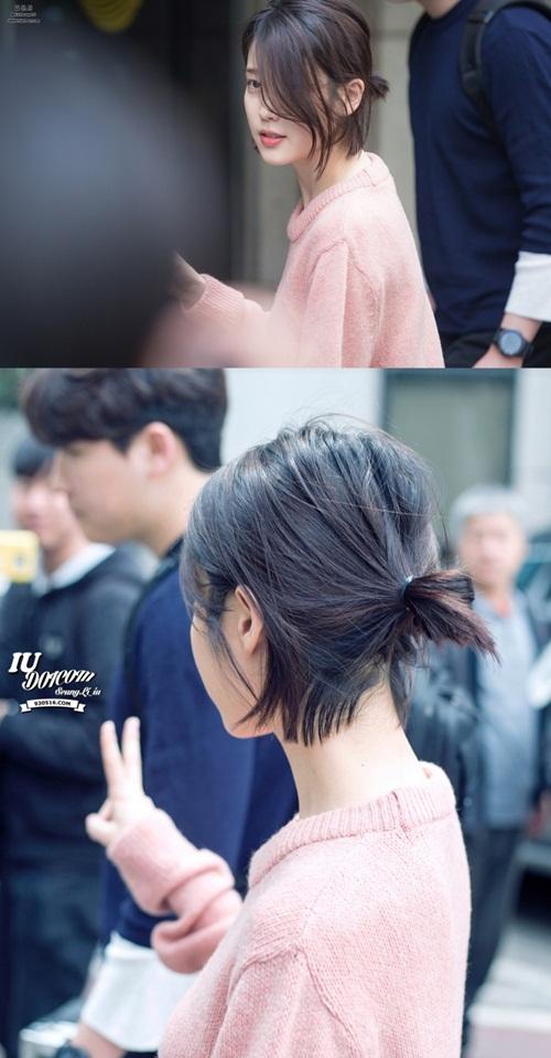 Hè 2018, cùng chiêm ngưỡng kiểu tóc ngắn của cô nàng gây sốt IU-7