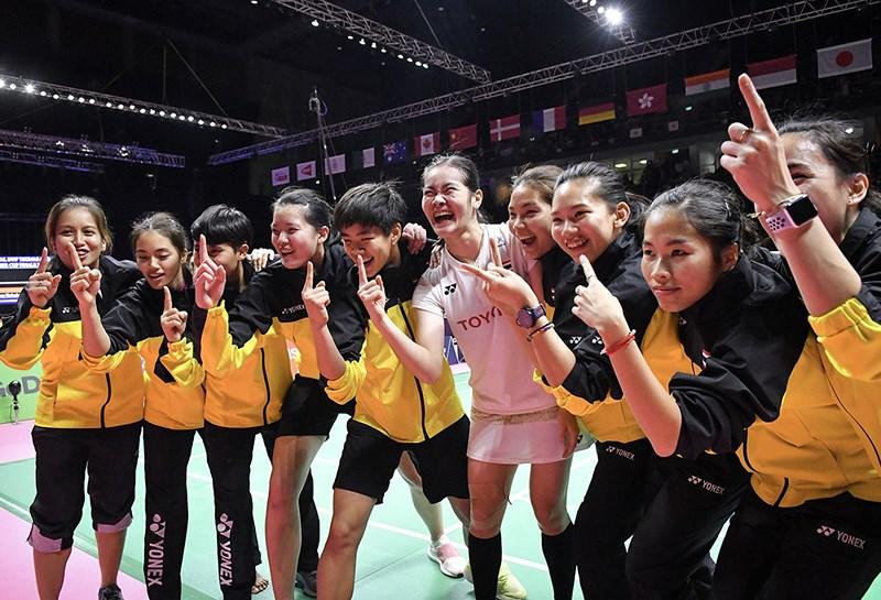 Cầu lông nữ Thái Lan tạo kỳ tích hạ gục Trung Quốc-3