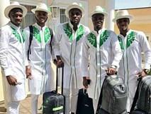 Đội tuyển Nigeria đến World Cup 2018 với thời trang độc đáo