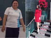 Giảm từ 100kg xuống còn 60kg trong 9 tháng, cô bạn như lột xác thành người khác!