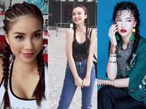 Kiểu tóc tưởng quê mùa, lỗi mốt bỗng dưng trở lại khiến người đẹp Việt mê mệt