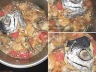 Tuyệt phẩm cá thu sốt cà bước ra từ phim kinh dị em dâu tương lai nấu cho chị chồng khiến dân tình cười rơi rụng