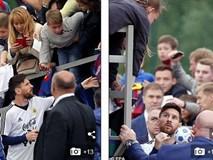 Khán giả tới kín sân theo dõi Messi tập luyện trước thềm World Cup