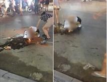 Tin mới vụ đánh ghen ở Thanh Hóa: Cô gái vừa làm tóc xong thì bị đánh, xát muối ớt