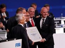 Liên danh 3 nước Bắc Mỹ giành quyền đăng cai World Cup 2026