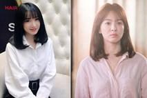 Khi đồn đoán vẫn chưa rõ thực hư, Nhã Phương đã kịp đổi tóc giống hệt Song Hye Kyo