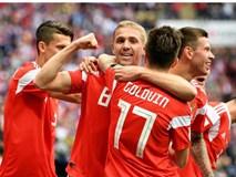 Trai đẹp Golovin tỏa sáng, giúp Nga thắng đậm trận khai màn World Cup 2018