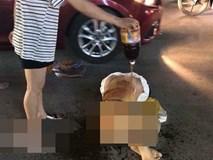 Vụ cô gái bị lột đồ, đổ mắm ớt giữa đường: Công an khẳng định là vụ đánh ghen