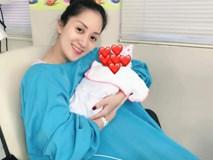 Khánh Thi tươi cười rạng rỡ, hạnh phúc hé lộ hình ảnh con gái chào đời trước 6 tuần tuổi