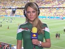 Nữ phóng viên quyến rũ nhất World Cup 2014 thay đổi thế nào sau 4 năm?