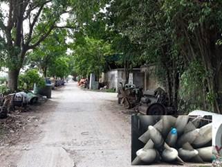 Đại gia buôn máy bay, tên lửa ở làng đồng nát Văn Môn