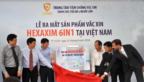 Hệ thống tiêm chủng VNVC ra mắt vắc xin 6in1 mới-1