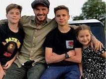 David Beckham chia sẻ nỗi niềm làm cha: Vẫn lo lắng cho con cả 19 tuổi và thường đi bộ cùng Harper đến trường