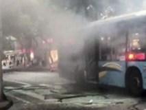 Xe buýt phát nổ ở miền Nam Trung Quốc, 15 người bị thương