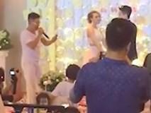 Đi đám cưới người yêu cũ, chàng trai giành mic hóm hỉnh 'bóc phốt' cô dâu giữa quan viên hai họ