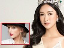 Á hậu Hà Thu nhận 'rổ phẫn nộ' khi phát biểu rap hay hơn cả Taylor Swift