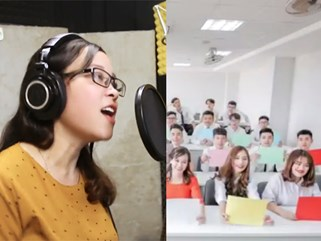 Cô giáo hát nhắn nhủ học sinh trước kỳ thi THPT quốc gia 2018 gây sốt