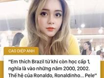 Hot girl Nóng cùng World Cup và câu nói bị