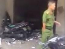 Nổ tại công an phường, 1 nữ chiến sĩ bị thương