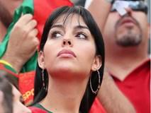 Georgina đẹp hút mắt trên khán đài, tiếp lửa cho Cristiano Ronaldo