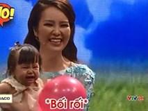 MC Thụy Vân gặp tình huống khó xử trên truyền hình