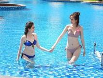 Người đẹp cuộc thi Hoa hậu Việt Nam khoe 3 vòng nóng bỏng với bikini