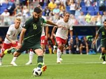 Nhờ công nghệ VAR, Australia có điểm số đầu tiên tại World Cup 2018