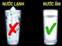 Mùa hè uống nước ấm hay nước lạnh: Câu trả lời giúp bạn có lựa chọn tốt nhất cho sức khoẻ