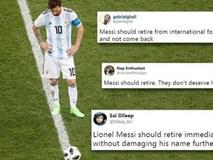 CĐV kêu gọi Messi 'bỏ tuyển ngay lập tức' sau thảm bại trước Croatia