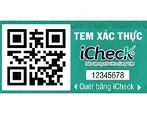 iCheck - 'check' hàng 3 trong 1