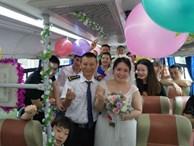 Tình cờ gặp nhau 3 lần trên một chuyến xe, tài xế bus kết hôn với nữ hành khách vì 'có duyên phận'