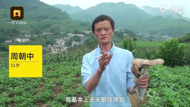 Trung Quốc: Phát hiện người đàn ông giống hệt CEO Jack Ma rao bán nấm rừng ở ven đường-3