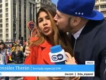 Bị dư luận lên án, CĐV xin lỗi vì sàm sỡ nữ phóng viên ở World Cup 2018