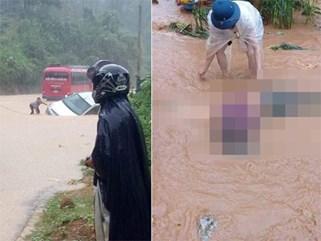 Mưa lũ kinh hoàng ở Hà Giang