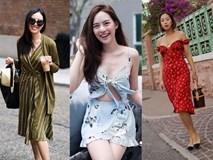 Các quý cô Châu Á khoe sắc cùng những gam màu nổi trong street style tuần này