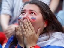 Kiều nữ Nga từ rạng rỡ tới thảng thốt sợ hãi