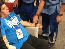 Maradona ngất xỉu, nhập viện khẩn sau trận thắng nghẹt thở của Argentina