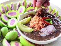 Thái Lan xuất hiện loại trái cây nhìn lạ mắt mà chấm với mắm thì ngon cực phẩm
