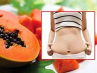 Mỡ bụng dày cũng thon gọn, da trắng lên trông thấy với 7 loại quả này