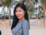 Chẳng kém mỹ nhân Việt nào, BTV Nguyễn Hoàng Linh khoe đường cong nóng bỏng dù đã hai con