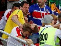"""Trận Brazil – Serbia: CĐV hăng máu """"đấu võ"""" trên khán đài"""