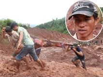 Chồng dùng đôi tay trần bới bùn đất tìm vợ con sau trận sạt lở kinh hoàng ở Lai Châu