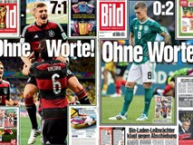 Báo chí quốc tế chấn động khi ĐKVĐ World Cup Đức thảm bại