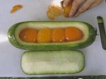 Con dâu nấu bữa cơm chỉ độc hai trái bí, mẹ chồng chê lười nhưng khi ăn thì tấm tắc