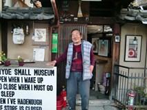 Viện bảo tàng tùy hứng của cụ ông người Nhật: Vui thì mở, ngủ đủ giấc mới dậy cho khách vào xem