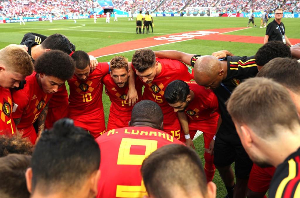 Khoảnh khắc Lukaku động viên cầu thủ Bỉ được so sánh với Messi-1