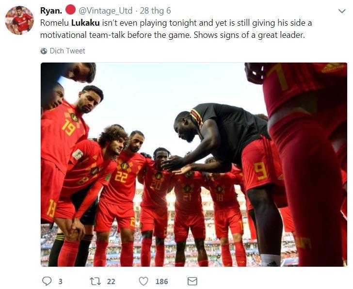 Khoảnh khắc Lukaku động viên cầu thủ Bỉ được so sánh với Messi-5
