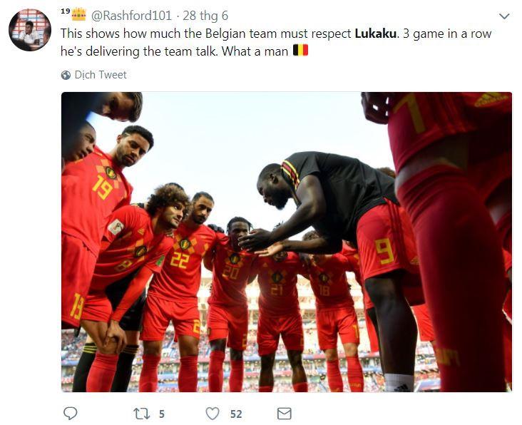 Khoảnh khắc Lukaku động viên cầu thủ Bỉ được so sánh với Messi-7