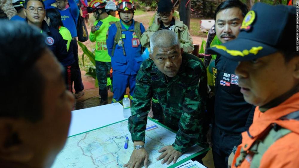 Thái Lan chạy đua với thời gian giải cứu 12 thiếu niên và huấn luyện viên mất tích do mưa lũ-5