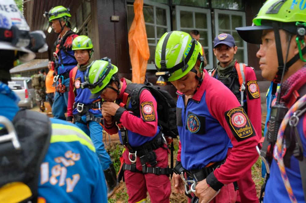 Thái Lan chạy đua với thời gian giải cứu 12 thiếu niên và huấn luyện viên mất tích do mưa lũ-8